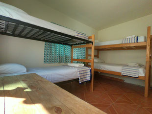 Dormitory bed in Hostel La Paz