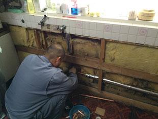 漏水・凍結修繕
