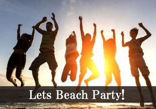 ビーチパーティー開始!