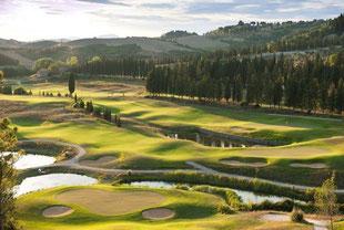 Golfreise Italien Golfpaket Toskana Castelfalfi Golf