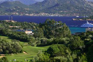Golfreise Italien Golfpaket Strand Sardinien Pevero Golf