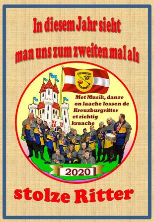 Orden Karneval Spielmannszug Echo Niederdrees 2020