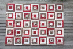 Madame Marie, Aus meinem Atelier, Quilts, Weihnachtsquilt