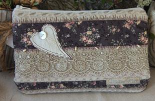 Madame Marie, Aus meinem Atelier, Materialpackung, Mäppchen Violetta