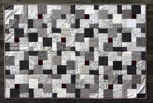 Madame Marie, Aus meinem Atelier, Quilts, Kuscheldecke Paris 2012