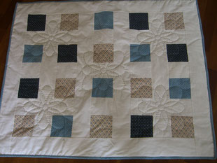 Madame Marie, Aus meinem Atelier, Quilts, Kinderquilt aus Grossmutters Stoffen