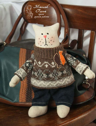 тильда кот, Авторские куклы Маслик Ольги