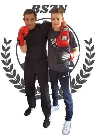 Vater und Sohn Boxen bei Boxen in Norderstedt