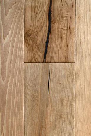 "Global Alliance hand scraped engineered hardwood flooring ""Natural"""