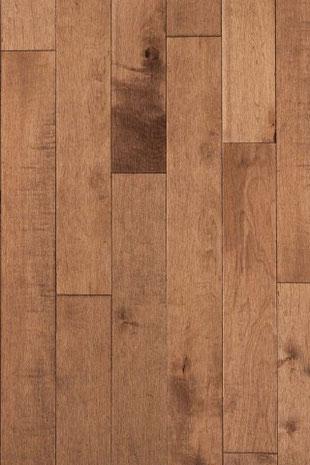 Lauzon hardwood flooring maple cafe au late