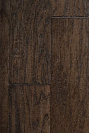 "Global Alliance Home Improvement Products Hand Scraped Ambiance engineered hardwood flooring Hickory ""Military"""