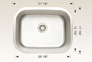 207037 bosco undermount sink