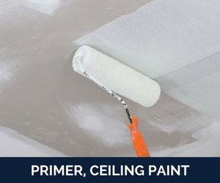 primer, ceiling paint