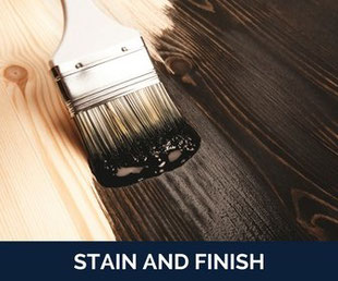 stain and finish