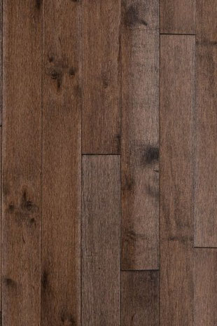 Lauzon hardwood flooring maple chocolate