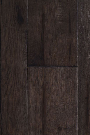 "Global Alliance hand scraped engineered hardwood flooring ""Silver Night"""