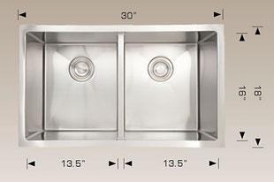 bosco  undermount kitchen sink 203319m