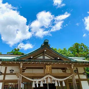 加佐登神社:日本武尊扁額