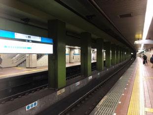 名古屋から2駅先の鶴舞駅