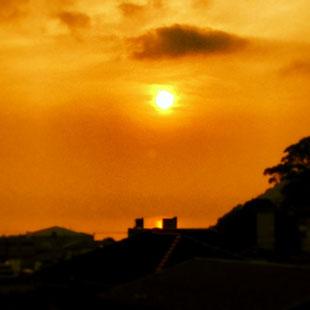 RISING SUN IN ATAMI