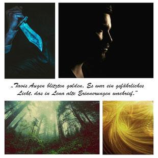 Tavis, Seelen-Trilogie, Marie Rapp, Seele aus Feuer, Seele aus Donner