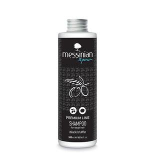 Messinian Spa Shampoo Premium line black truffle