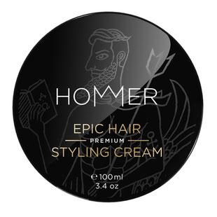 hommer epic hair styling cream