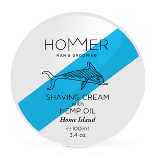 Hommer Rasiercreme Home Island