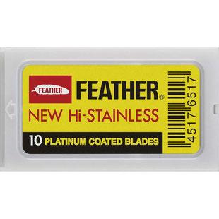 Rasierklingen Double Edge Blades Feather  10 Stück