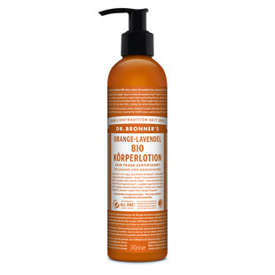 Dr. Bronner's Bio Körperlotion Orange-Lavendel