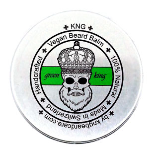"KNG BeardCare Bartbalm ""green king"" 60g"