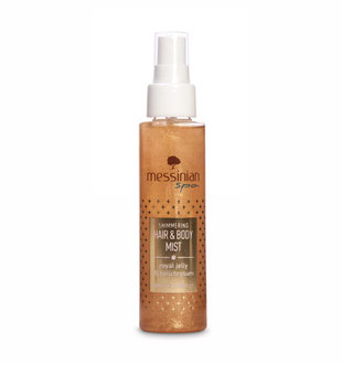 Messinian Spa Hair & Body Mist Royal Jelly Helichrysum