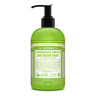 Dr. Bronner's Sugar Soap Zitronengrass-Limette 355ml
