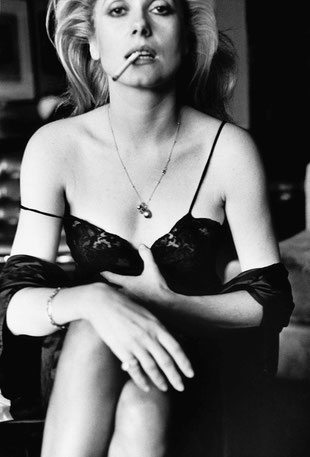 Catherine Deneuve, Esquire, Paris 1976 © Helmut Newton Estate / Maconochie Photography