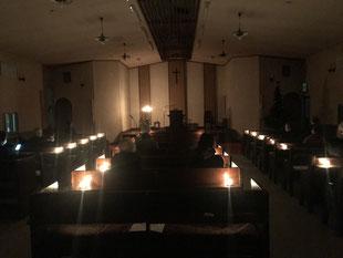 #日本キリスト教会#室蘭教会#クリスマスイブ#讃美礼拝