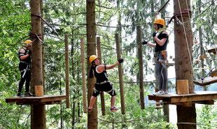 Kletterpark Schöckl Schulausflug