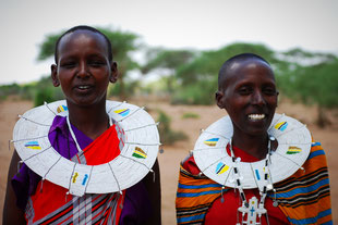 Ausflug zu den Massai