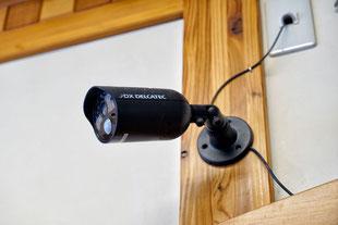 防犯カメラ設置もお任せください