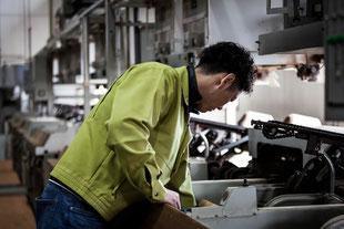煎茶工場の風景