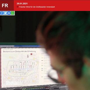 Online-Workshop Verkehrskonzept Greifswald TV