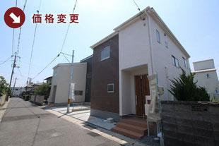 岡山県岡山市北区上中野の新築一戸建て分譲住宅の外観 物件詳細ページにリンク