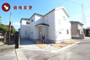 岡山県岡山市南区福島の新築一戸建て分譲住宅の外観 物件詳細ページにリンク
