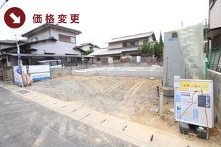岡山県倉敷市中庄の新築一戸建て分譲住宅の外観 物件詳細ページにリンク