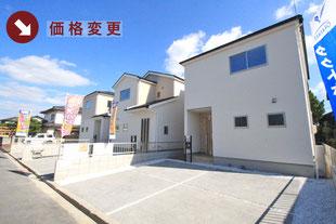 岡山県岡山市東区西大寺射越の新築一戸建て分譲住宅の外観 物件詳細ページにリンク