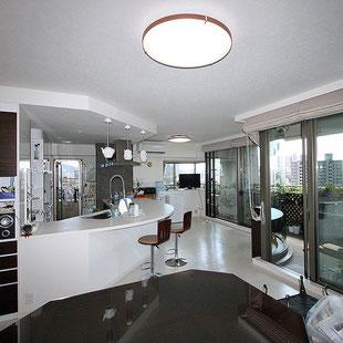 建築 施工例 岡山市のマンションリフォームの詳細情報ページへのリンク