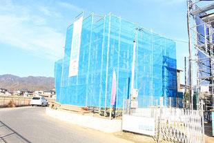 岡山県瀬戸内市長船町長船の新築一戸建て分譲住宅の外観 物件詳細ページにリンク