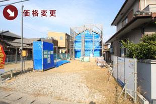 岡山県岡山市南区彦崎の新築一戸建て分譲住宅の外観 物件詳細ページにリンク