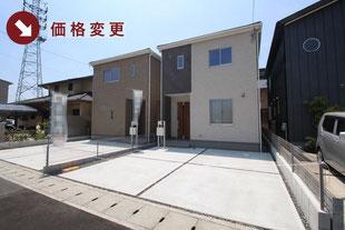 岡山県岡山市北区今2丁目の新築一戸建て分譲住宅の外観 物件詳細ページにリンク