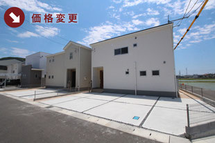 岡山県瀬戸内市長船町の新築一戸建て分譲住宅の外観 物件詳細ページにリンク