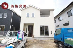 岡山県倉敷市連島町西之浦の新築一戸建て分譲住宅の外観 物件詳細ページにリンク